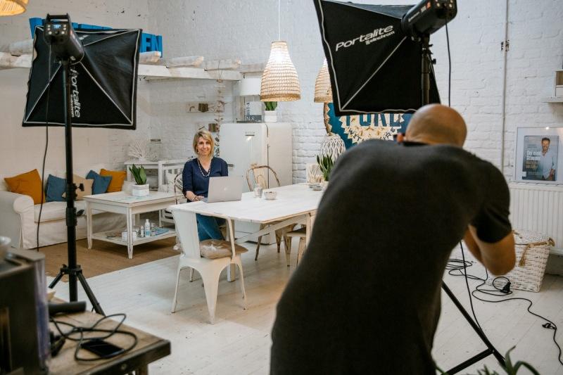Angela-Mueller-Unternehmen-Fotoshooting
