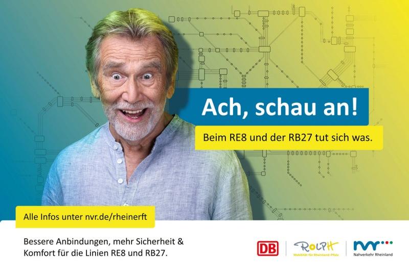 Flyer Kampagne - Deutsche Bahn / Nahverkehr Rheinland