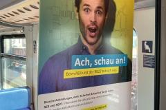 Poster Nahverkehr Rheinland Bahn