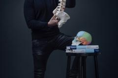 Businessportrait | Fotoshooting  im Fotostudio vor grauem Hintergrund