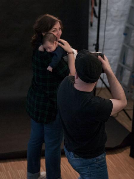 nonverbal | Familienfotografie | Studio