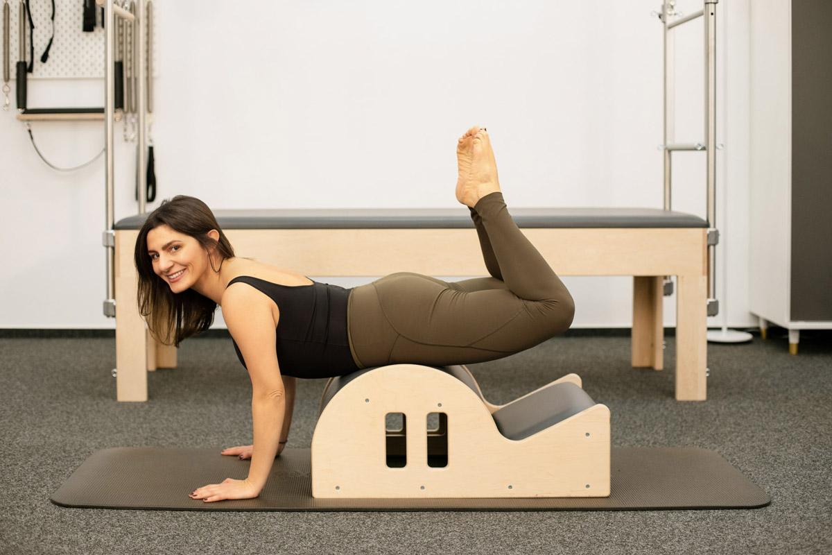 Businessportrait für Valeria Perrelli Ora Pilates Studio