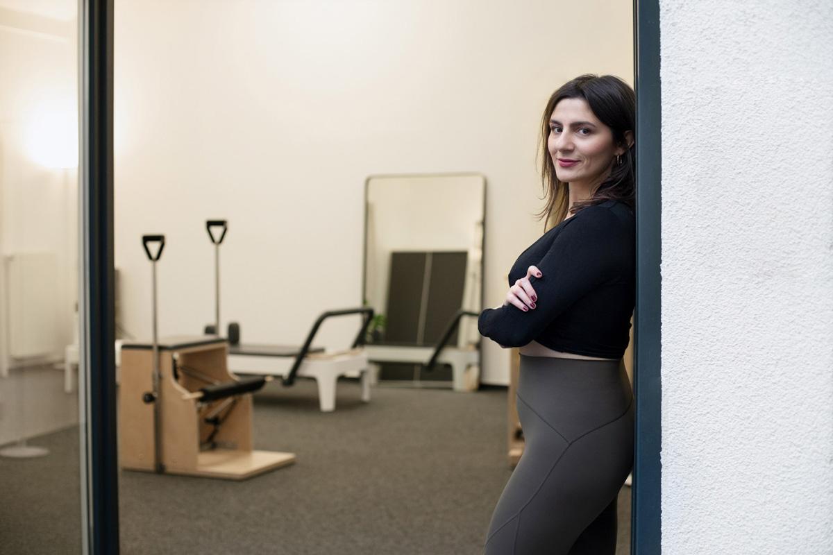 Unternehmensfotografie für Valeria Perrelli Ora Pilates Studio
