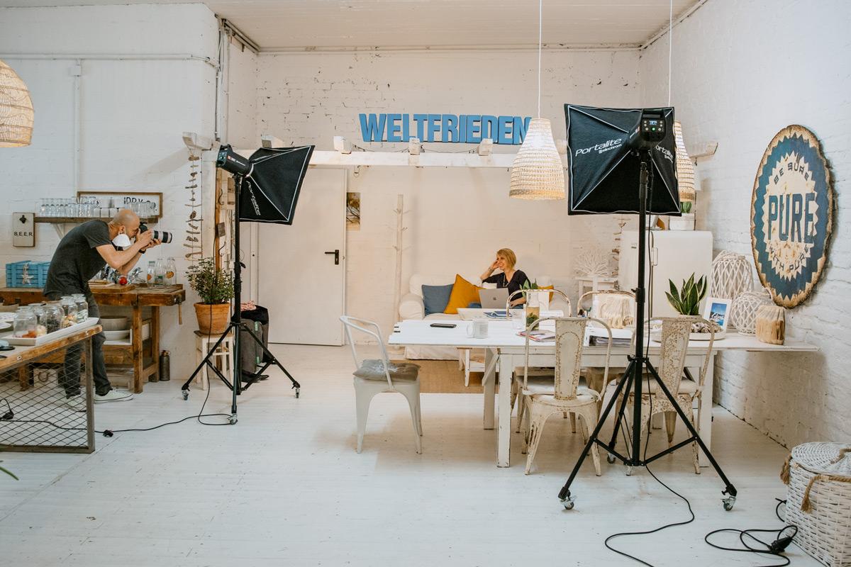 Businessshooting mit Angela Müller